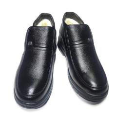 APPLE苹果男士羊毛保暖牛皮鞋