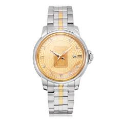 ARSA足金金牌真钻机械腕表