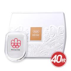 奥运会纪念银章40g