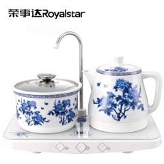 荣事达(Royalstar)陶瓷水壶 TCE10-ZA195A 钢化玻璃板面