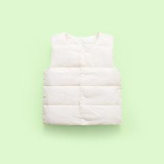 跑量款 儿童棉马甲2020新款宝宝男女童装羽绒棉纯色马甲