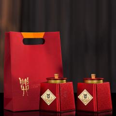 瓯叶 特级大红袍茶叶 武夷岩茶茶叶 乌龙茶 200g 礼盒装