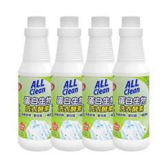 台湾多益得浓缩酵素衣物护理洗衣液4瓶装