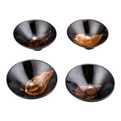 吉州窑《天目木叶盏》茶具