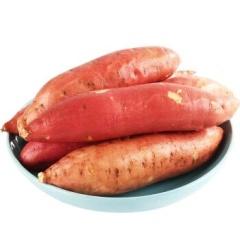 边走边淘 烟薯25号地瓜中果 5斤12-15个 包邮