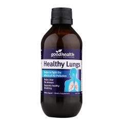 新西兰好健康Goodhealth Healthy Lungs 肺康天然草本健肺液200ml