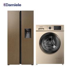 达米尼10公斤洗衣机+612升冰箱